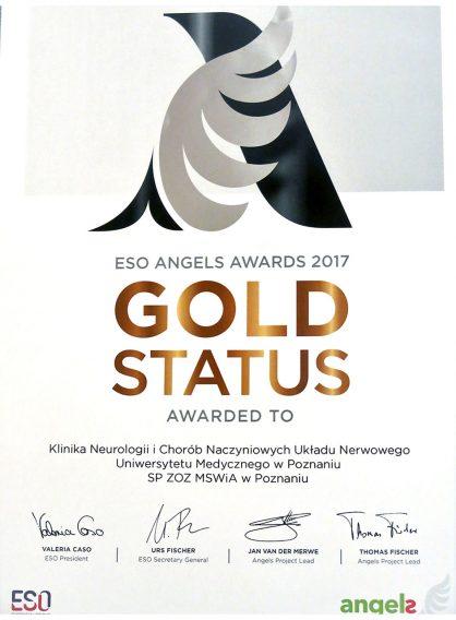 Gold Status 2017