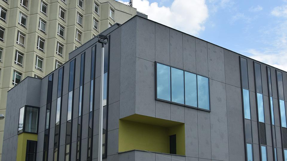 budynek nowego bloku operacyjnego