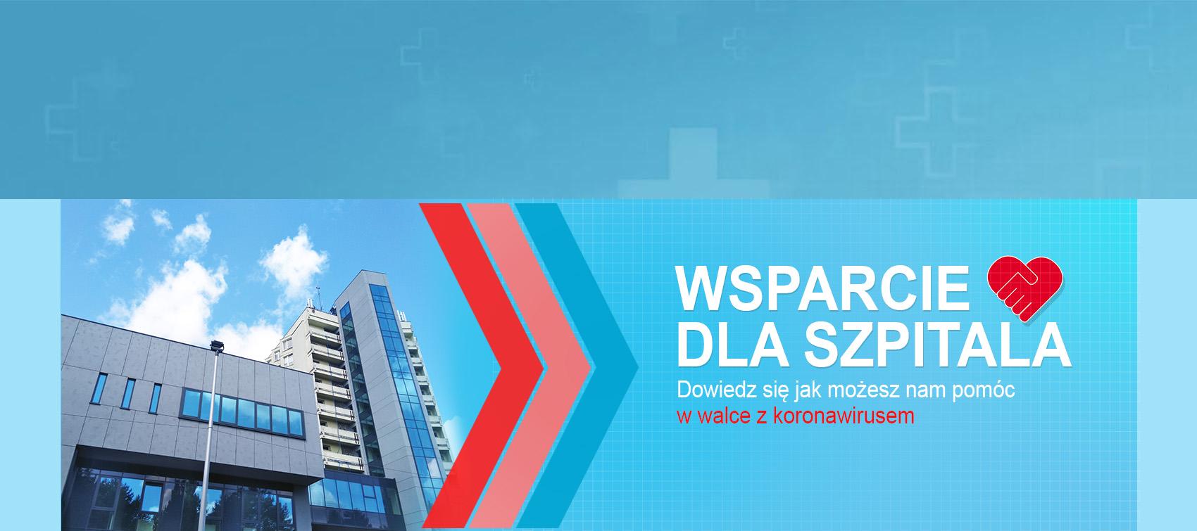wsparcie dla Szpitala MSWiA w Poznaniu