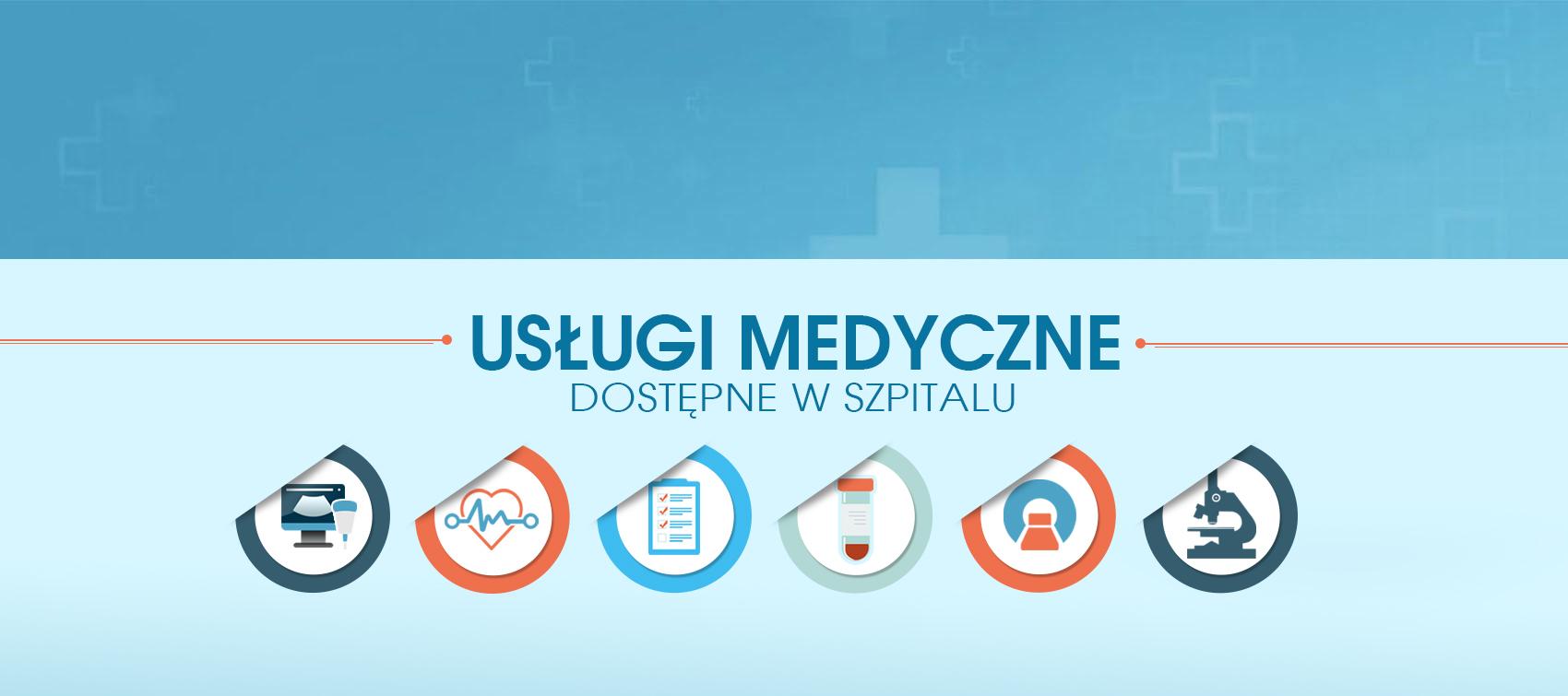 Usługi medyczne slajder