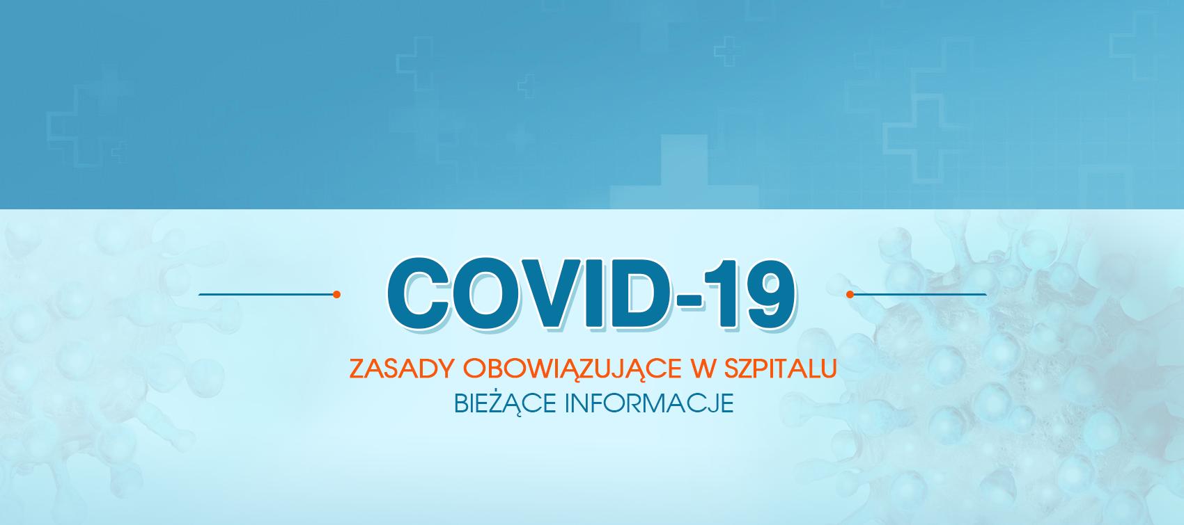 COVID-19 baner
